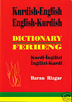 Kurdish-English  English Kurdish Dictionary