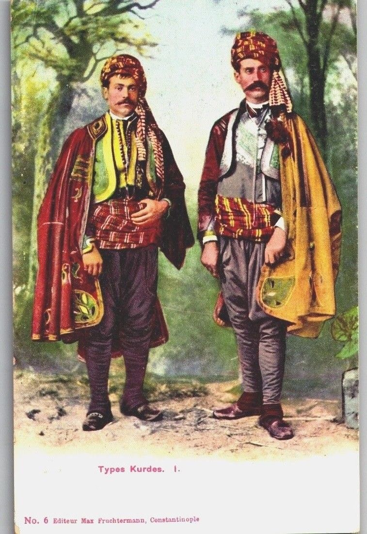 Old / Antique Kurdish Postal Card -